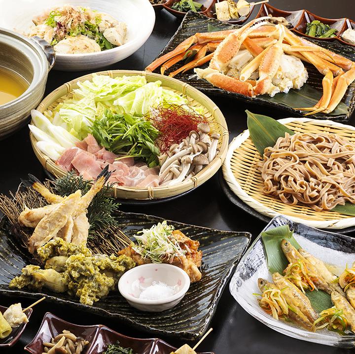 季節の鮮魚と長州どりの宴 2.5時間飲み放題付 全8品 6,000円(税込)